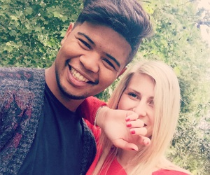 blonde, boyfriend, and mixed race image