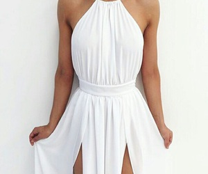 chic, white, and woman image