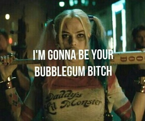 bubblegum, suicide squad, and harley quinn image
