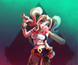 DC, harley quinn, and movies image