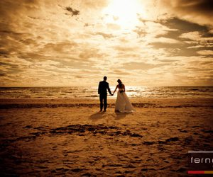 beach, forever, and marriage image