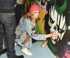 cara delevingne and suicide squad image