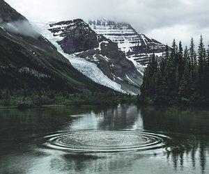 cold and lake image