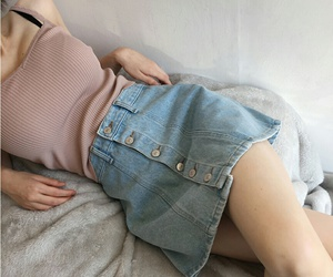casual, cool, and denim image