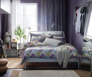 bedroom, design, and ikea image
