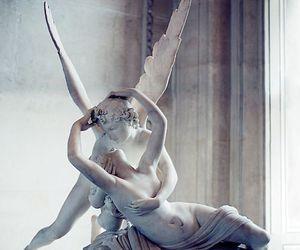 art, love, and angel image