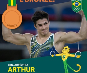 arthur, champion, and olympic games image