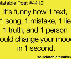 text, mood, and song image