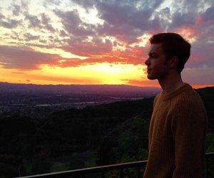 cameron monaghan, shameless, and sunset image