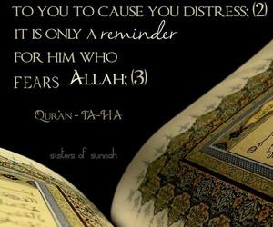 quran, verse, and surah taha image
