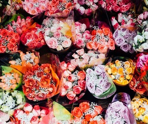 flowers, bright, and tumblr image