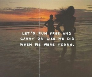 quote, free, and young image