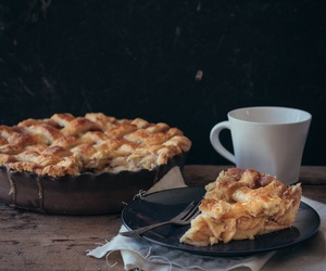 apple, crumble, and food image