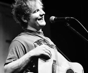 ed sheeran, singer, and guitar image