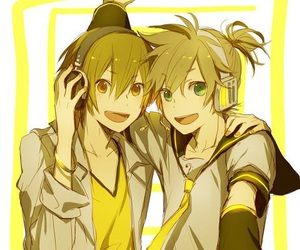 kagamine len, music, and vocaloid image