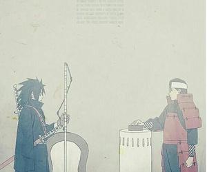 madara, hashirama, and uchiha image