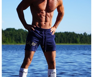 fitness, shorts, and crossfit image