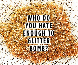 glitter and gold image