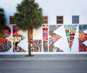 believe, graffiti, and colors image