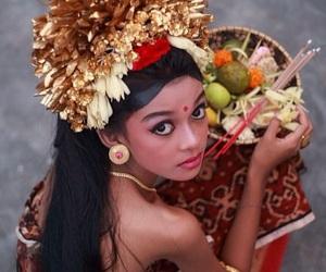 bali and girl image