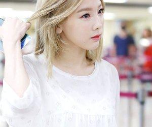 taeyeon, girls generation, and kpop image