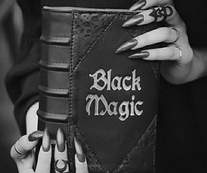 book, black magic, and magic image