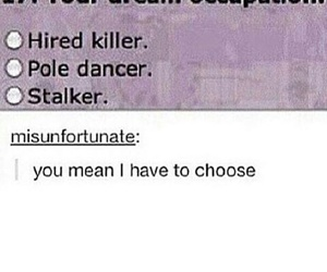 funny, post, and stalker image