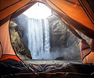 amazing, tent, and nature image