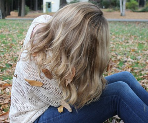 fall, hair, and autumn image