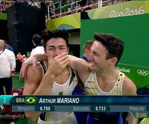 beautiful, gymnastics, and brazil image