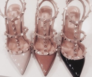 Valentino, heels, and shoes image