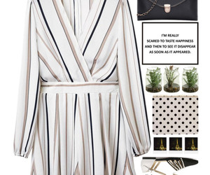 dress, elegant, and outfit image