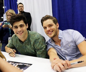 matthew daddario, shadowhunters, and dominic sherwood image