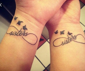 sisters, love, and 😍 image
