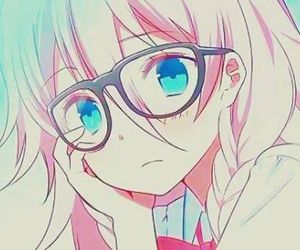 anime, glasses, and vocaloid image