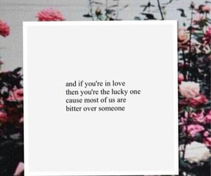 love, quote, and bitter image