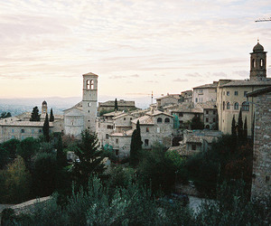 italy and assisi image