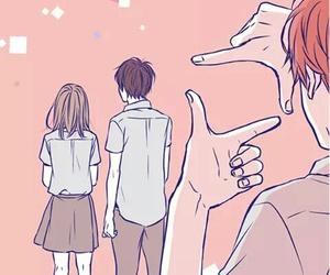 anime, orange, and kakeru image