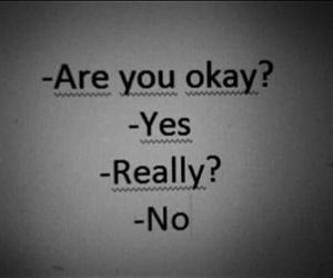 no, okay, and sad image