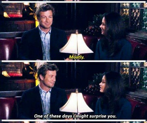 the mentalist, tv, and patrick jane image