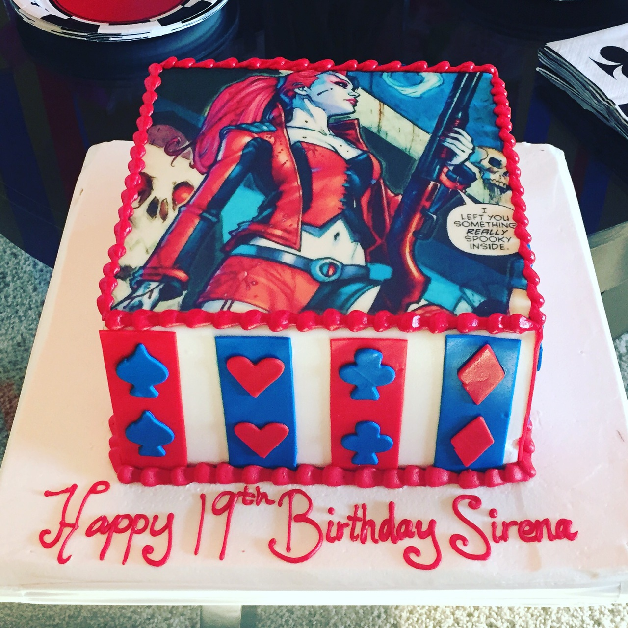 Harley Quinn Cake Shared By Wife On We Heart It
