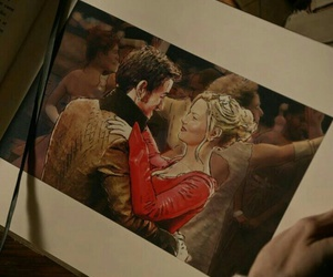 hook and emma, once upon a time, and captain swan image