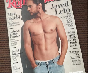cover, jared leto, and magazine image