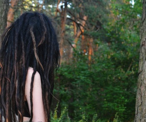 alternative, dreadlocks, and dreads image