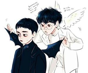 exo, baekhyun, and do image