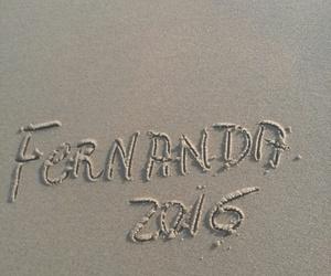 2016, fernanda, and praia image