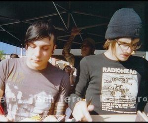 my chemical romance, frank iero, and mikey way image