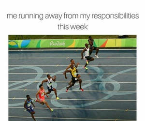 homework, olympics 2016, and responsabilities image