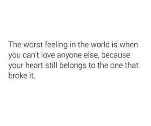 broken, hurt, and love image