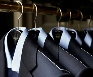 hangers, photography, and men's suits image